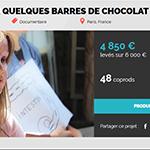 «Pour quelques barres de chocolat» – a besoin de vous